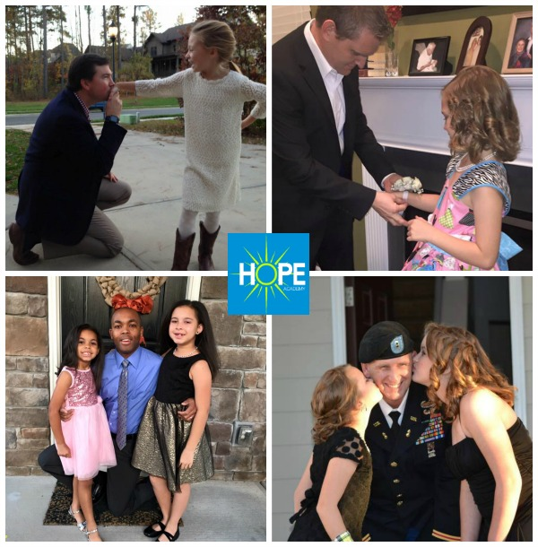 Father Daughter Dance Collage