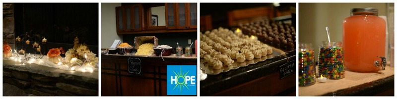 HOPE Dance Decor Food