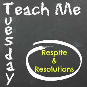 Teach Me Tuesday - Resolutions