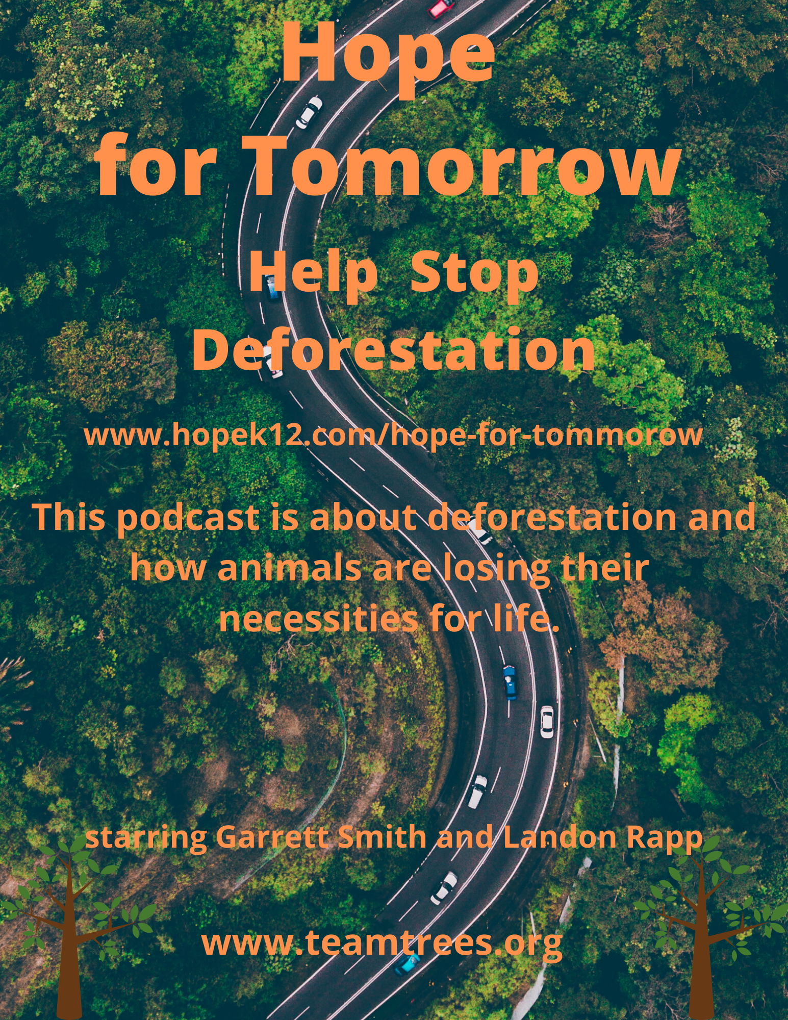 Deforestation Podcast by Middle School Students