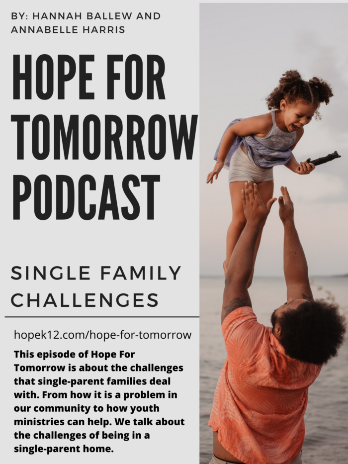 Description of the podcast and picture of dad throwing child in the air