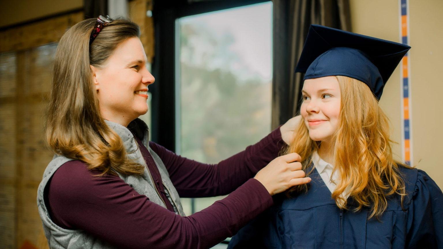 High School Graduate at Hope Academy