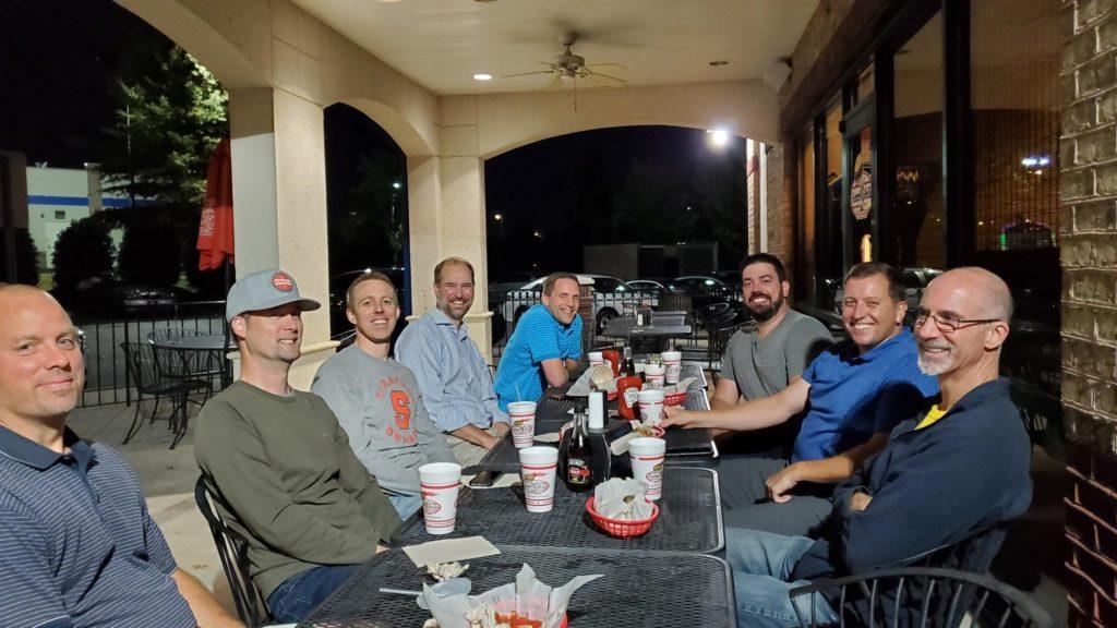 Dads Burger Night